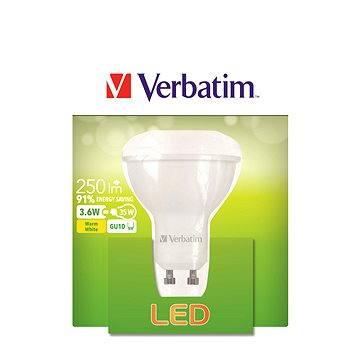 Verbatim 3.6W LED GU10 2700K (52643)
