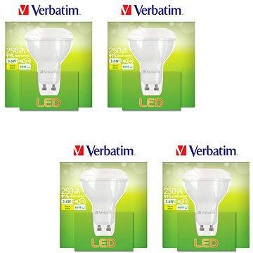Verbatim 3.6W LED GU10 2700K set 4ks (52643-4ks)
