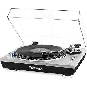 Victrola VPRO-2000 stříbrný (VPRO-2000-SLV-EU)
