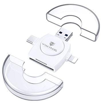Viking V4 USB 3.0 4v1 bílá (VR4V1W)