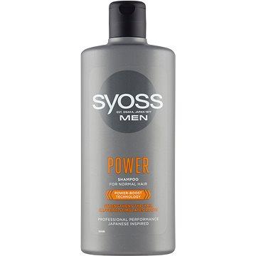 Syoss Men Power & Strenght šampon 500 ml