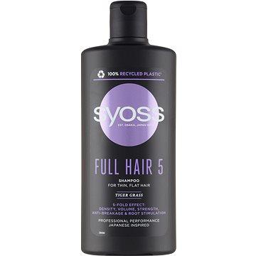 SYOSS Full Hair 5/Volume Booster Shampoo - pro zvýšení hustoty a objemu vlasů 500 ml
