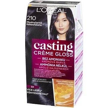 Barva na vlasy LORÉAL CASTING Creme Gloss 210 Modročerná (3600521334737)