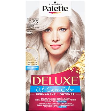 SCHWARZKOPF PALETTE Deluxe 240 Popolavá chladná blond (2405833)