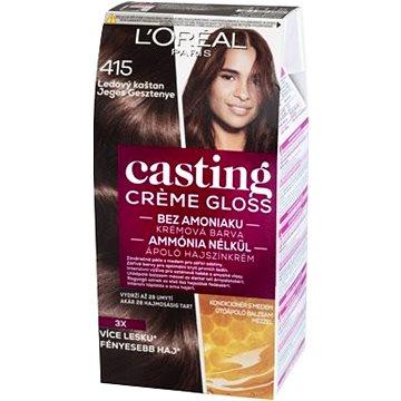 Barva na vlasy LORÉAL CASTING Creme Gloss 415 Ledový kaštan (3600521334775)