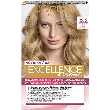 L'ORÉAL PARIS Excellence 8.3 Světlá zlatá blond (3600523757893)