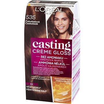 Barva na vlasy LORÉAL CASTING Creme Gloss 535 Čokoládová (3600521334997)