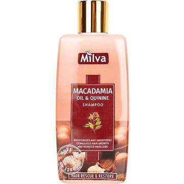 MILVA Makadamiový olej a Chinin 200 ml (3800231670556)