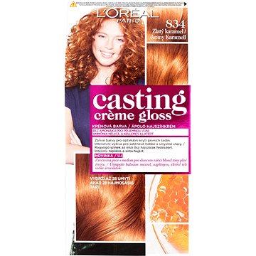 Barva na vlasy LORÉAL CASTING Creme Gloss 834 Měděná zlatá blond (3600521334959)