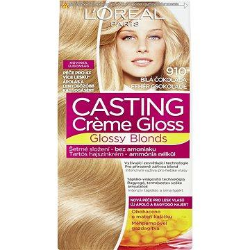 Barva na vlasy LORÉAL CASTING Creme Gloss 910 Blond ledová (3600521831373)