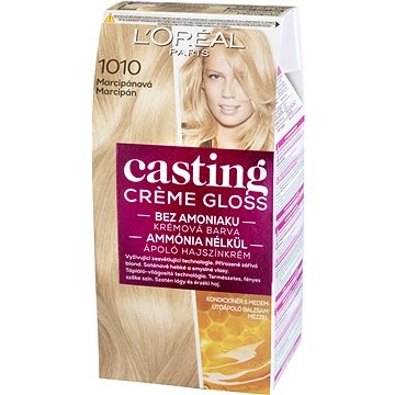 Barva na vlasy LORÉAL CASTING Creme Gloss 1010 Marcipánová (3600521831359)