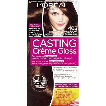 ĽORÉAL CASTING Creme Gloss 403 Intezivní čokoládová (3600522409175)