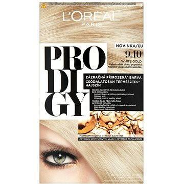 Barva na vlasy LORÉAL PRODIGY 9.10 White Gold Velmi světlá blond popelavá (3600522514039)