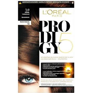 Barva na vlasy LORÉAL PRODIGY 3.01 Kôhl Brown black (3600522514237)