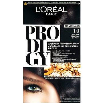 Barva na vlasy LORÉAL PRODIGY 1.01 Obsidian Dark black (3600522514251)