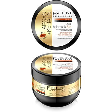 EVELINE Cosmetics Argan + Keratin Mask 8in1 500 ml (5907609387882)