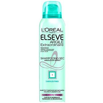 Suchý šampon ĽORÉAL ELSEVE Extraordinary Clay Dry 150 ml (3600523216246)
