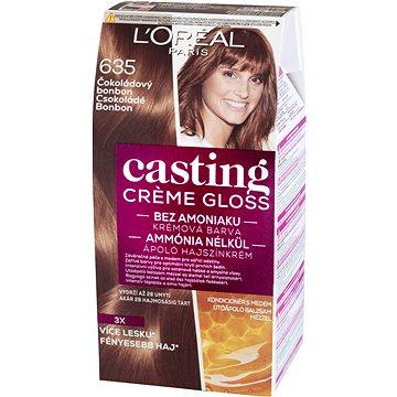 Barva na vlasy LORÉAL CASTING Creme Gloss 635 Čokoládový bonbon (3600523029549)