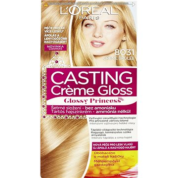 Barva na vlasy LORÉAL CASTING Creme Gloss 8031 Creme brulée (3600523278008)