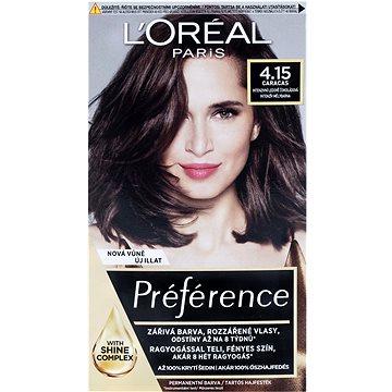 Barva na vlasy LORÉAL PARIS Récital Préférence Caracas 4.15/M1 intenzivní ledově čokoládová (3600010013389)