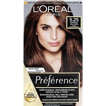 Barva na vlasy LORÉAL PARIS Récital Préférence Antigua 5.25/M2 mahagonově-čokoládová (3600010013396)