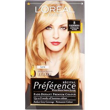 Barva na vlasy LORÉAL PARIS Récital Préférence Californie 8/X3 světlá blond (3600010013891)