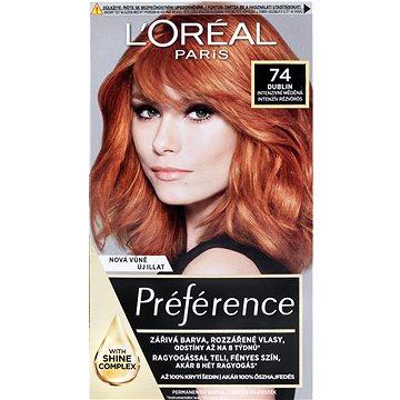 Barva na vlasy LORÉAL PARIS Féria Préférence Mango 74 intenzivní měděná (3600521434734)