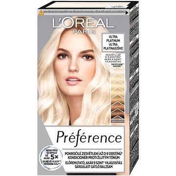 Barva na vlasy LORÉAL PARIS Les Blondissimes Préférence Extreme Platinum (3600522272960)