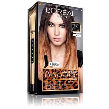 Barva na vlasy LORÉAL PARIS Wild Ombrés Préférence Ombré No1 světle hnědá až tmavě hnědá (3600522272663)