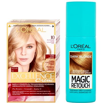 Sada LORÉAL PARIS Excellence Creme 10 + Magic Retouch 5