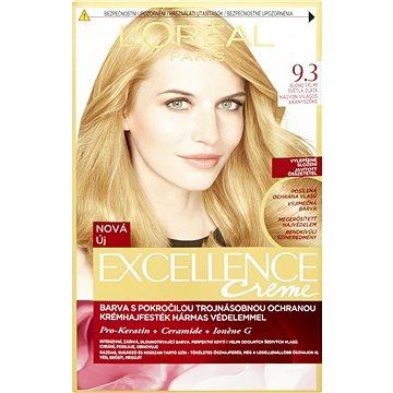 Barva na vlasy LORÉAL PARIS Excellence Creme 9.3 Blond velmi světlá zlatá (3600523231911)