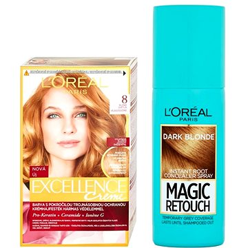 Sada LORÉAL PARIS Excellence Creme 8 + Magic Retouch 5