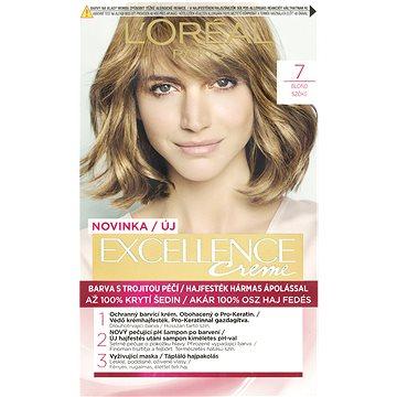 Barva na vlasy LORÉAL PARIS Excellence Creme 7 Blond (3600523006311)