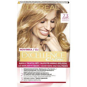 Barva na vlasy LORÉAL PARIS Excellence Creme 7.3 Blond zlatá (3600523231959)