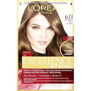 Barva na vlasy LORÉAL PARIS Excellence Creme 6.13 Blond tmavá běžová (3600523006274)