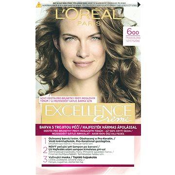Barva na vlasy LORÉAL PARIS Excellence Creme 6 Tmavá blond (3600523006335)