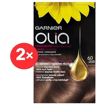 GARNIER Olia 6.0 Světle hnědá 2×