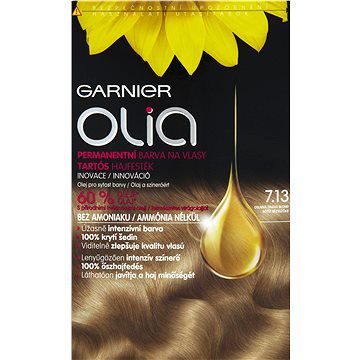 Barva na vlasy GARNIER Olia 7.13 Oslnivá tmavá blond (3600541298767)