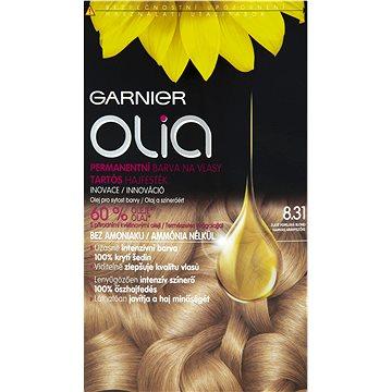 Barva na vlasy GARNIER Olia 8.31 Zlatě popelavá blond (3600541298781)