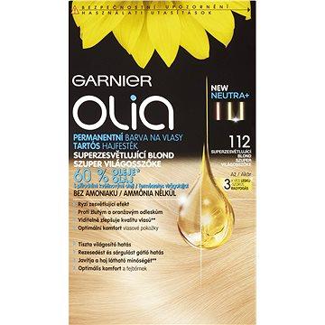 Barva na vlasy GARNIER Olia 112 Superzesvětlující blond (3600541912649) + ZDARMA Rukavice GARNIER Rukavice