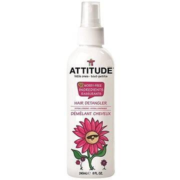 Dětský vlasový sprej ATTITUDE Sprej pro snadné rozčesávání vlásů s vůní Sparkling Fun 240 ml (626232111194)