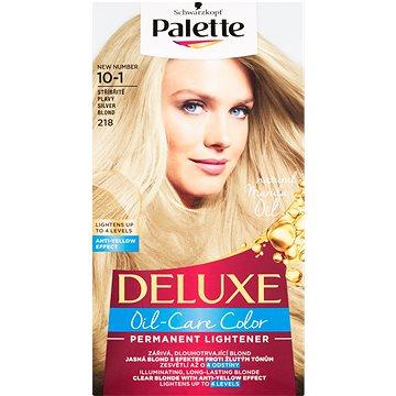 Barva na vlasy SCHWARZKOPF PALETTE Deluxe 218 Stříbřitě plavý (3838824176697)