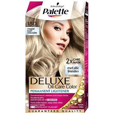 Barva na vlasy SCHWARZKOPF PALETTE Deluxe 130 Titanově plavý 50 ml (9000101018592)