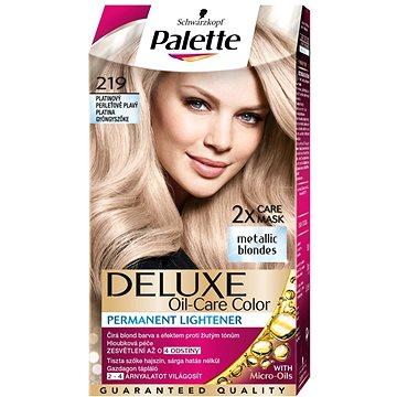 Barva na vlasy SCHWARZKOPF PALETTE Deluxe 219 Platinový perleťově plavý 50 ml (9000101018707)