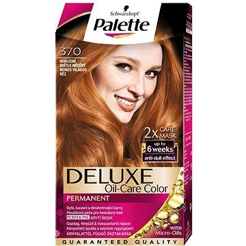 Barva na vlasy SCHWARZKOPF PALETTE Deluxe 370 Noblesní světle měděný 50 ml (3838824295329)