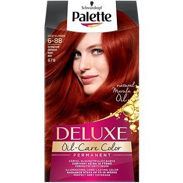 Barva na vlasy SCHWARZKOPF PALETTE Deluxe 678 Intenziv.červený 50 ml (3838824176895)