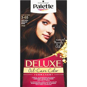 Barva na vlasy SCHWARZKOPF PALETTE Deluxe 750 Čokoládový 50 ml (3838824176932)