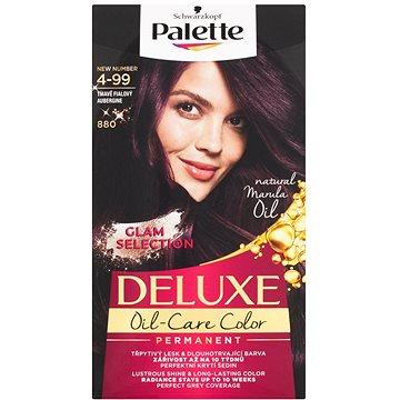 Barva na vlasy SCHWARZKOPF PALETTE Deluxe 880 Tmavě fialový 50 ml (3838824177052)