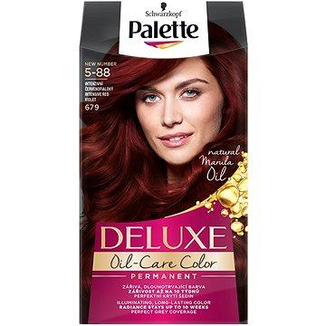 Barva na vlasy SCHWARZKOPF PALETTE Deluxe 679 Intenzivní červenofialový 50 ml (3838824176918)