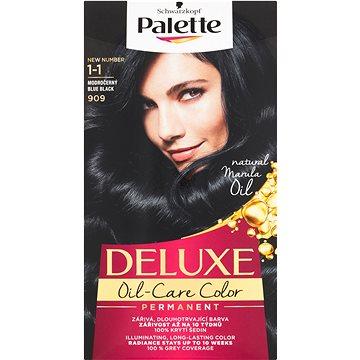 Barva na vlasy SCHWARZKOPF PALETTE Deluxe 909 Modročerný 50 ml (3838824177090)